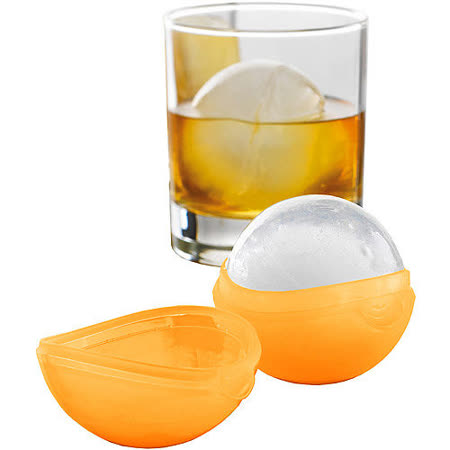 《MASTRAD》冰塊球製冰盒(橘)