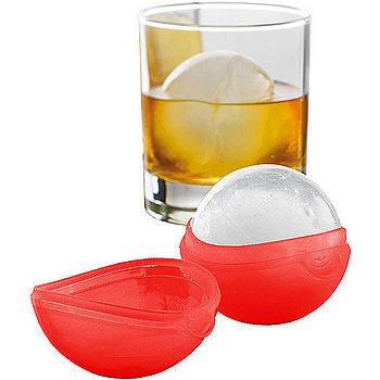 《MASTRAD》冰塊球製冰盒(紅)
