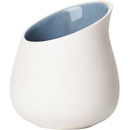 《ZONE》弧形短杯燭台(藍)