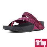 FitFlop™-(女款)SLING™ WEBBLING -艷粉/黑