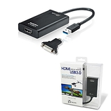【kaijet 凱捷】USB 3.0 HDMI JUA350 外接顯示卡(j5create)