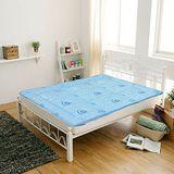 【KOTAS】日式記憶釋壓床墊 單人 三尺 藍