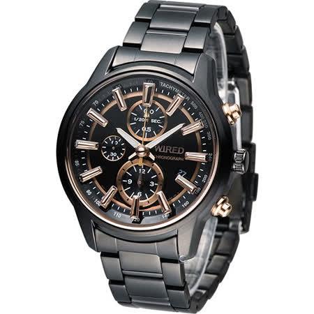 WIRED REFLECTION 光影無限 時尚計時腕錶 7T92-X260K AF8T31X1