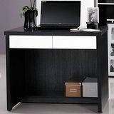 【幸福屋】Norbert 3尺鐵刀雙色電腦書桌