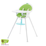 Creative Baby (創寶貝) 二合一成長型餐椅 綠色 (Sprout 2 in 1 Hi-Lo Chair)
