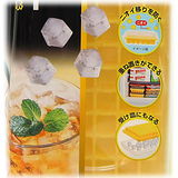 【波克貓哈日網】日本創意小品◇加蓋製冰盒◇《避免食物氣味沾染》小冰塊