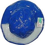【波克貓哈日網】兒童雨帽◇寬緣透明設計◇《藍色》56cm