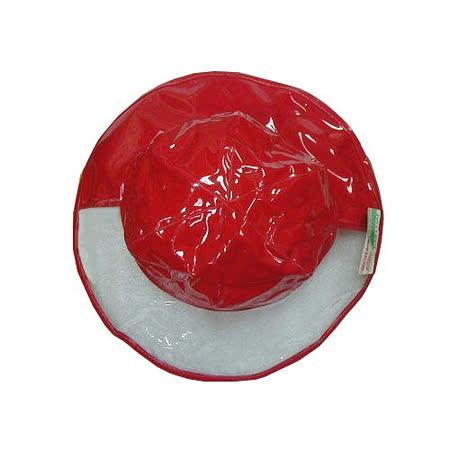 【波克貓哈日網】兒童雨帽◇寬緣透明設計◇《紅色》56cm
