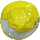 【波克貓哈日網】兒童雨帽◇寬緣透明設計◇《黃色》56cm