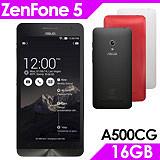 Asus ZenFone 5 A500CG 16GB 5吋智慧型手機-送保護貼+專用皮套+觸控筆