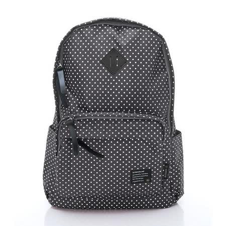 DF Queenin - 可愛滿點休閒款豬鼻小款後背包(小款)-黑色