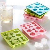 【iSFun】可愛配件*塑膠模型製冰盒/三色可選