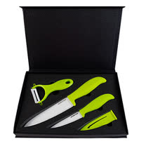 AKWATEX-陶瓷刀X2+削皮器-3件組(AK-4046)