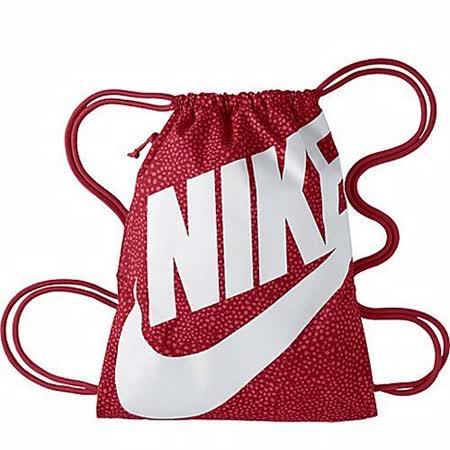 【Nike】2014時尚大LOGO紅色運動休閒小後背包【預購】