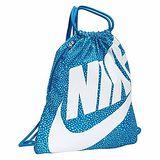 【Nike】2014時尚大LOGO藍色運動休閒小後背包【預購】