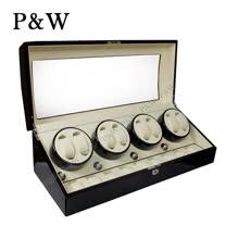 【P&W手錶自動上鍊盒】【木質鋼琴烤漆】 8+9支裝 WATCH WINDER 動力儲存盒 機械錶專用