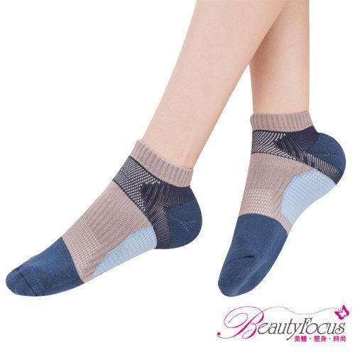~美麗焦點~萊卡專利機能 襪^(0622^)~深藍色