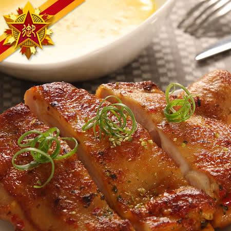 【五星御廚養身宴】無國界生醃肉品系列 - 德州蒜香雞腿(生)