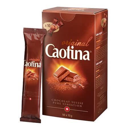 可提娜Caotina頂級瑞士巧克力粉(分享包10包x15g) x 5盒