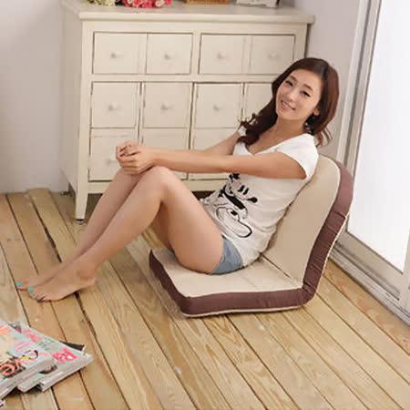 【JAKOTA】焦糖土司五段式可調和式椅/和室椅/合適椅/沙發床