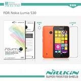 NILLKIN Nokia Lumia 530 超清防指紋保護貼(含鏡頭貼套裝版)