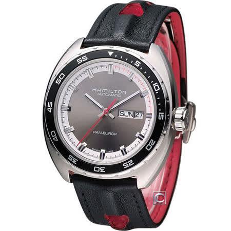 漢米爾頓 HAMILTON 美國經典PanEUROP機械套錶 H35415781