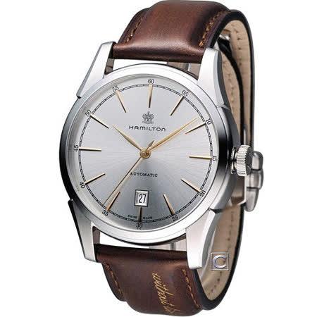 Hamilton 漢米爾頓 TIMELESS CLASSIC 自由精神機械錶 H42415551