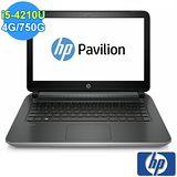 【HP】Pavilion 14-v009TX 14吋 家用筆記型電腦(銀色)
