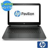 【HP】Pavilion 14-v007TX 14吋 家用筆記型電腦(銀色)