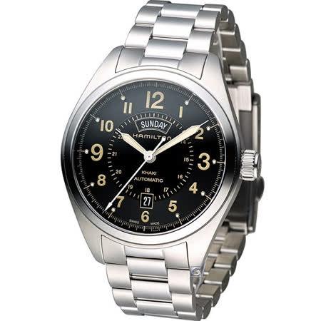 Hamilton Khaki  Day Date 野戰軍用風格自動機械錶 H70505933