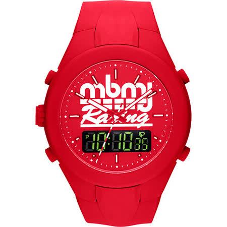 Marc by Marc Jacobs X-Up 雙顯時計腕錶-紅 MBM5530