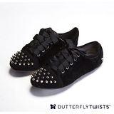 BUTTERFLY TWISTS -POPPY 可折疊扭轉芭蕾舞鞋-經典黑
