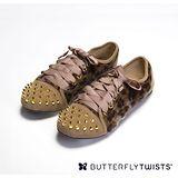 BUTTERFLY TWISTS -POPPY 可折疊扭轉芭蕾舞鞋-豹紋
