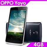 OPPO Yoyo R2001 4.7吋 四核雙卡智慧型手機-送原廠皮套+16G+多功能讀卡機+耳機塞+拭淨布