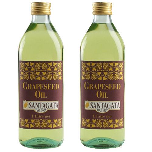 《Santagata》義大利聖塔加特級葡萄籽油(1LTx2)