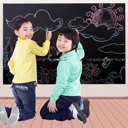 神奇自黏黑板