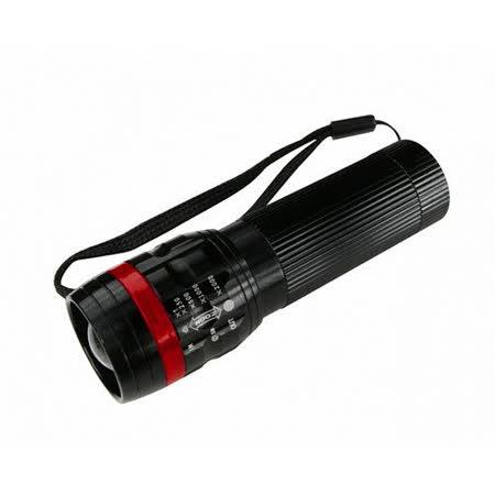 【KINYO】100流明超亮晶片伸縮手電筒(LED-608)
