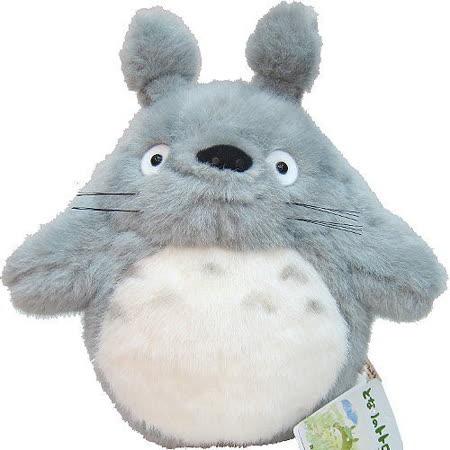 【波克貓哈日網】龍貓豆豆龍◇造型玩偶◇《灰色大龍貓》