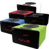 NFC無線藍牙觸控音箱喇叭 支援插卡擴充 FM廣播無線播放【買1送1:送吸盤無線藍牙喇叭】