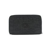 【Kipling】BASIC系列 多功能拉鍊長夾智慧型手機袋 黑色 K-373-5314-899