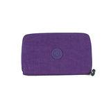 【Kipling】BASIC系列 多功能拉鍊長夾智慧型手機袋 冰晶紫 K-373-5314-646