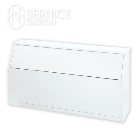 防潮防蛀床頭箱 - 白