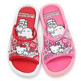 【童鞋城堡】Hello Kitty中大童40周年紀念版室外拖鞋814681