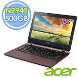 Acer E3-112 11.6吋 N2940 四核 500G Win8.1 棕色筆電–送靜電除塵器+指撥式水療按摩器+32G記憶卡