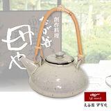 【日本長谷園伊賀燒】灰白款小陶壺