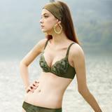 【曼黛瑪璉】14AW水迷人系列三 B-D罩杯內衣(梨樹綠)