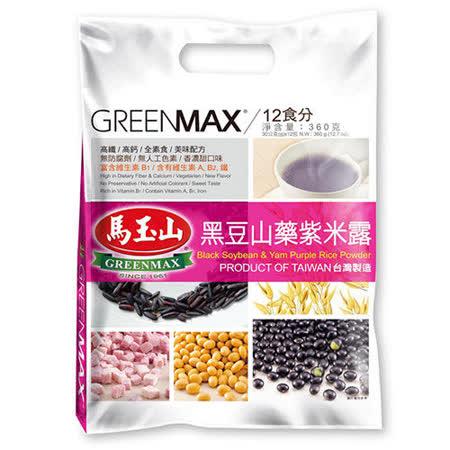 【馬玉山】黑豆山藥紫米露(12入/袋)