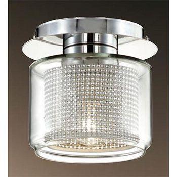 FT 玻璃燈罩造型吸頂燈 單顆燈燈座 -FT-33033