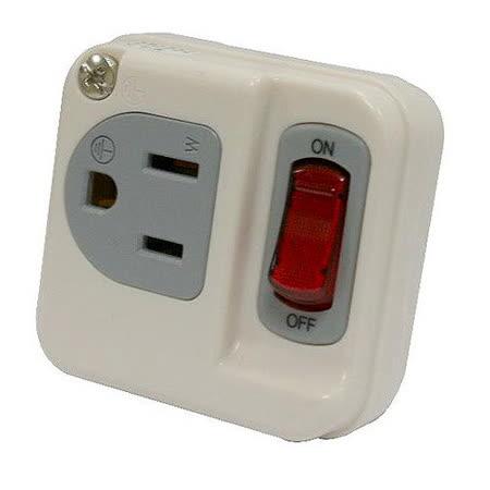 【KINYO】3孔單切單插高負載分接式插座(MR-11)