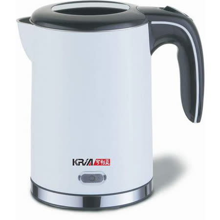 【KRIA可利亞】1.2公升雙層防燙304#不鏽鋼電水壼/快煮壺 KR-1723